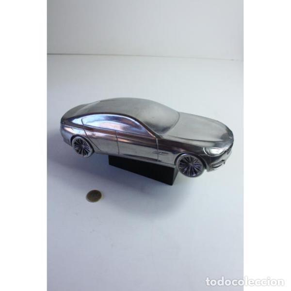 Antigüedades: Antiguo coche BMW figura miniatura - Foto 9 - 164278122