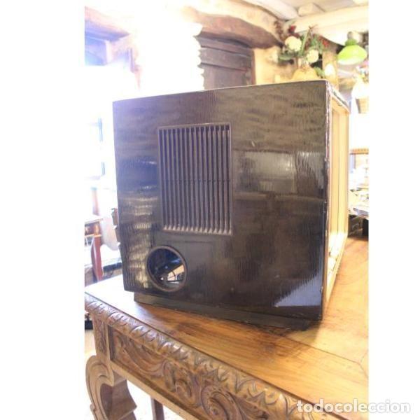 Antigüedades: Antiguo televisor aleman Grudig - Foto 5 - 164279574