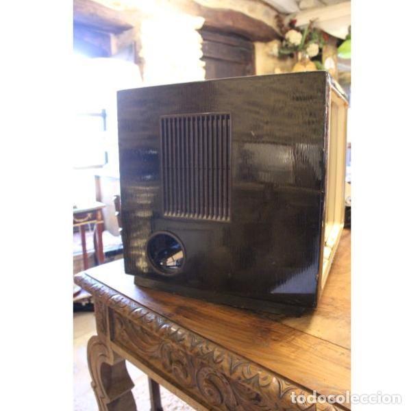 Antigüedades: Antiguo televisor aleman Grudig - Foto 6 - 164279574