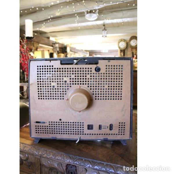 Antigüedades: Antiguo televisor aleman Grudig - Foto 8 - 164279574