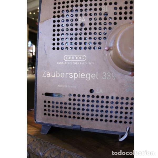 Antigüedades: Antiguo televisor aleman Grudig - Foto 9 - 164279574