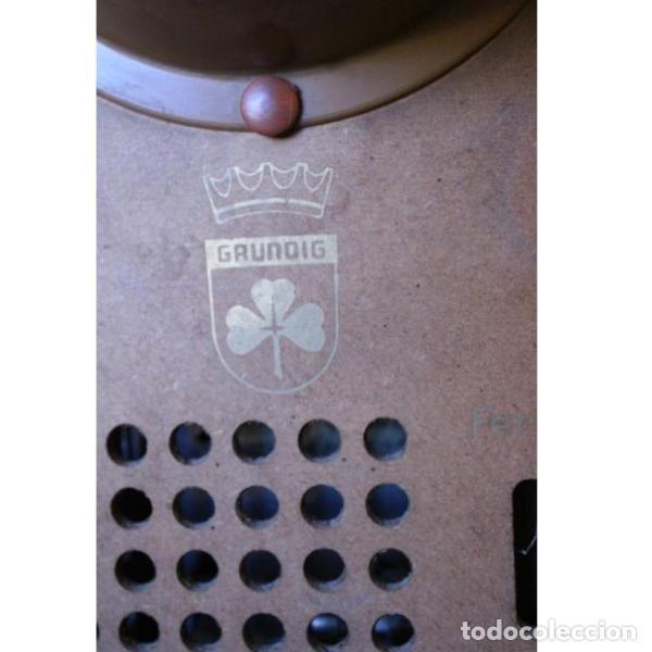 Antigüedades: Antiguo televisor aleman Grudig - Foto 10 - 164279574