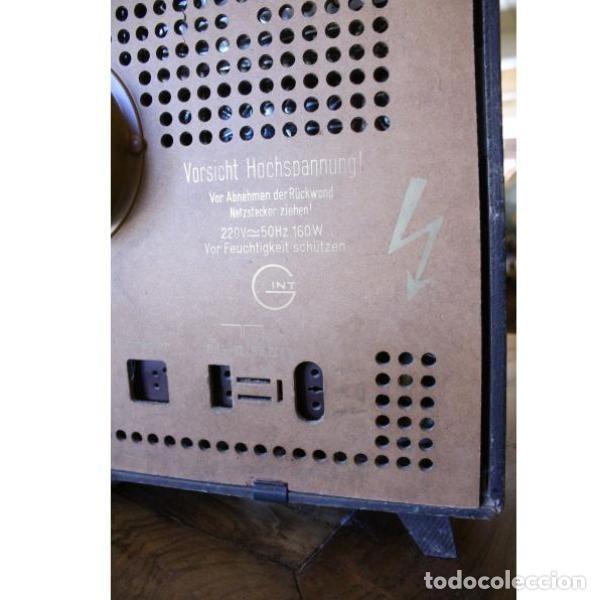 Antigüedades: Antiguo televisor aleman Grudig - Foto 11 - 164279574