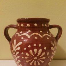 Antigüedades: ANTIGUA ORZA DE DOS ASAS. Lote 164280457