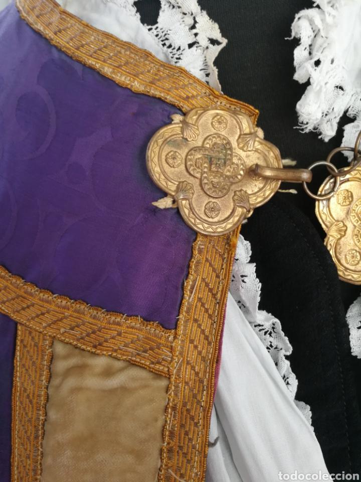 Antigüedades: ANTIGUA CAPA PLUVIAL - Foto 7 - 164329440