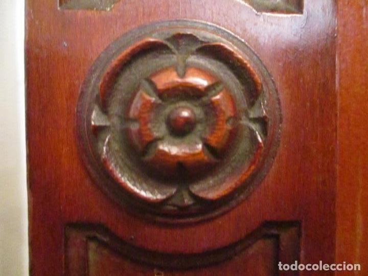 Antigüedades: Vitrina - Estilo Victoriana - Madera de Haya Color Caoba - con Peana - Años 40 - Foto 9 - 164441378