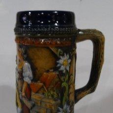 Antigüedades: JARRA DE CERVEZA ALEMANA SELLADA GEHZ W. GERMANY. Lote 164517850