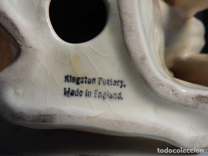 Antigüedades: PERRO BOXER DE PORCELANA INGLESA KINGSTON POTTERY - Foto 11 - 164520018