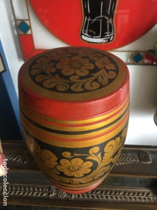 Antigüedades: Caja madera ussr - Foto 2 - 164520086
