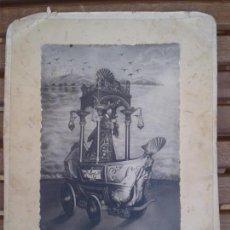 Antiguidades: ANTIGUA FOTOGRAFÍA JESÚS NAZARENO CRISTO URDA TOLEDO AÑOS 20 LA BARCA. Lote 164559174