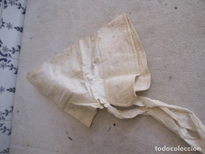 Antigüedades: MUY ANTIGUO GORRO DE TELA - Foto 3 - 164571278
