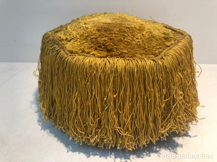 BIRRETE DOCTORAL ANTIGUO, ORIGINAL (Antigüedades - Moda - Sombreros Antiguos)