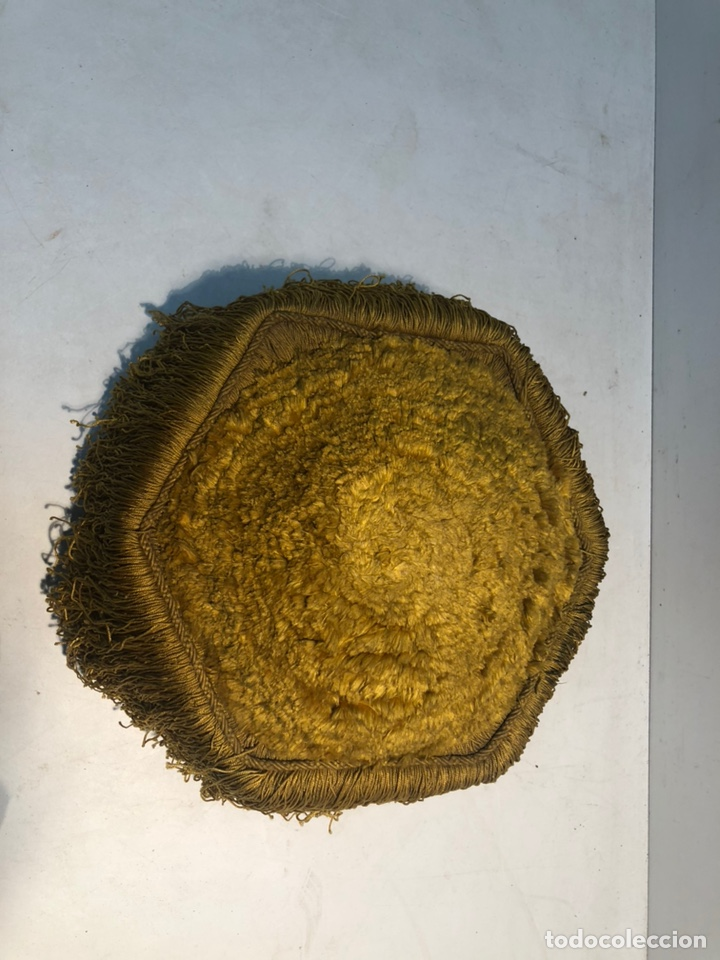Antigüedades: BIRRETE DOCTORAL ANTIGUO, ORIGINAL - Foto 3 - 164574202