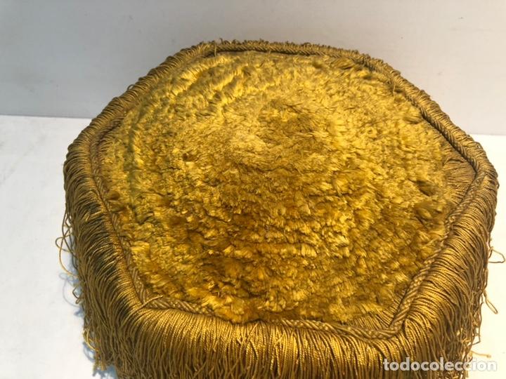 Antigüedades: BIRRETE DOCTORAL ANTIGUO, ORIGINAL - Foto 2 - 164574202