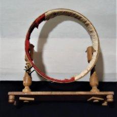 Antigüedades: ANTIGUO BASTIDOR BORDADOR DE MADERA. Lote 164604466
