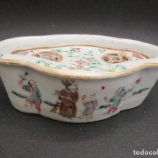 Antigüedades: ANTIGUA JABONERA CHINA. Lote 164607058