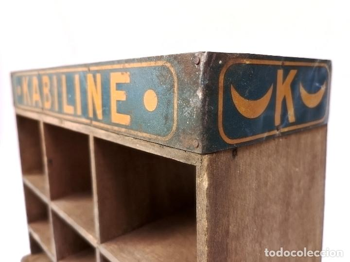 Antigüedades: Pequeño expositor Kabiline - Foto 3 - 164612654