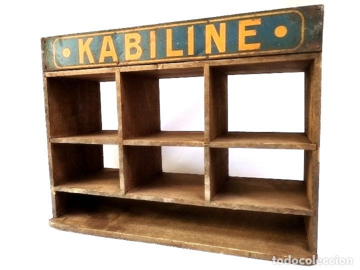 Antigüedades: Pequeño expositor Kabiline - Foto 5 - 164612654