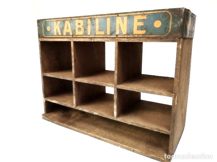 Antigüedades: Pequeño expositor Kabiline - Foto 7 - 164612654