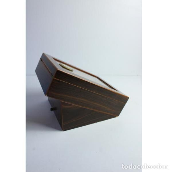 Antigüedades: Antigua caja de madera para tabaco - Foto 6 - 164638274