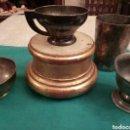 Antigüedades: LOTE DE ANTIGUOS CALICES. Lote 164640550