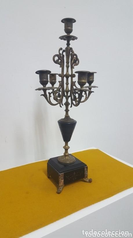 Antigüedades: Candelabro S XIX. - Foto 5 - 164651718