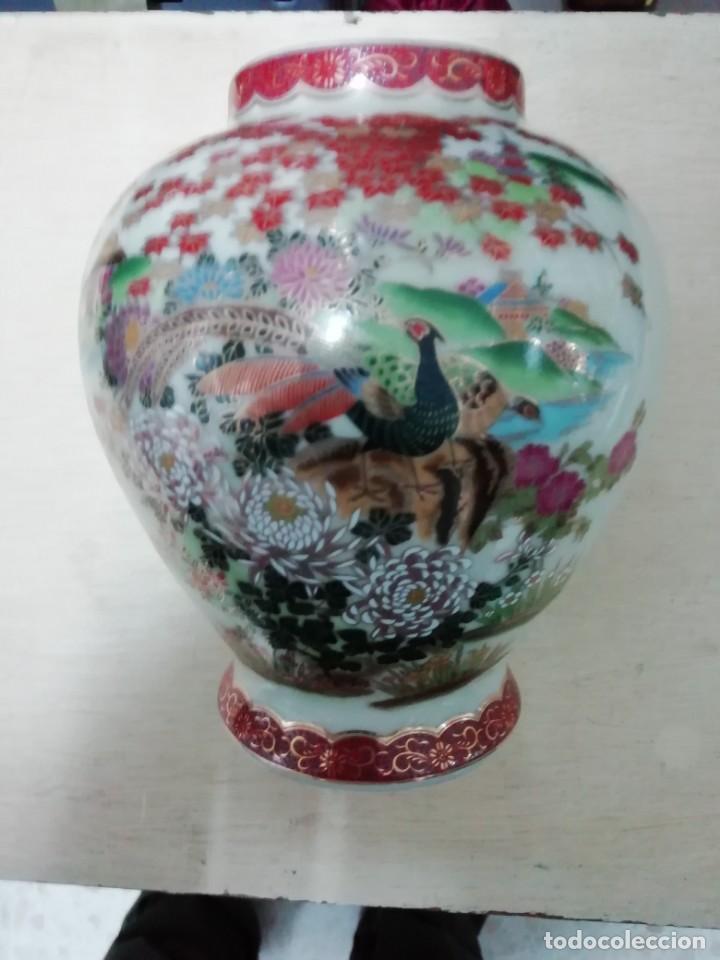 JARRON CERAMICA SATSUMA JAPON (Antigüedades - Porcelana y Cerámica - Japón)