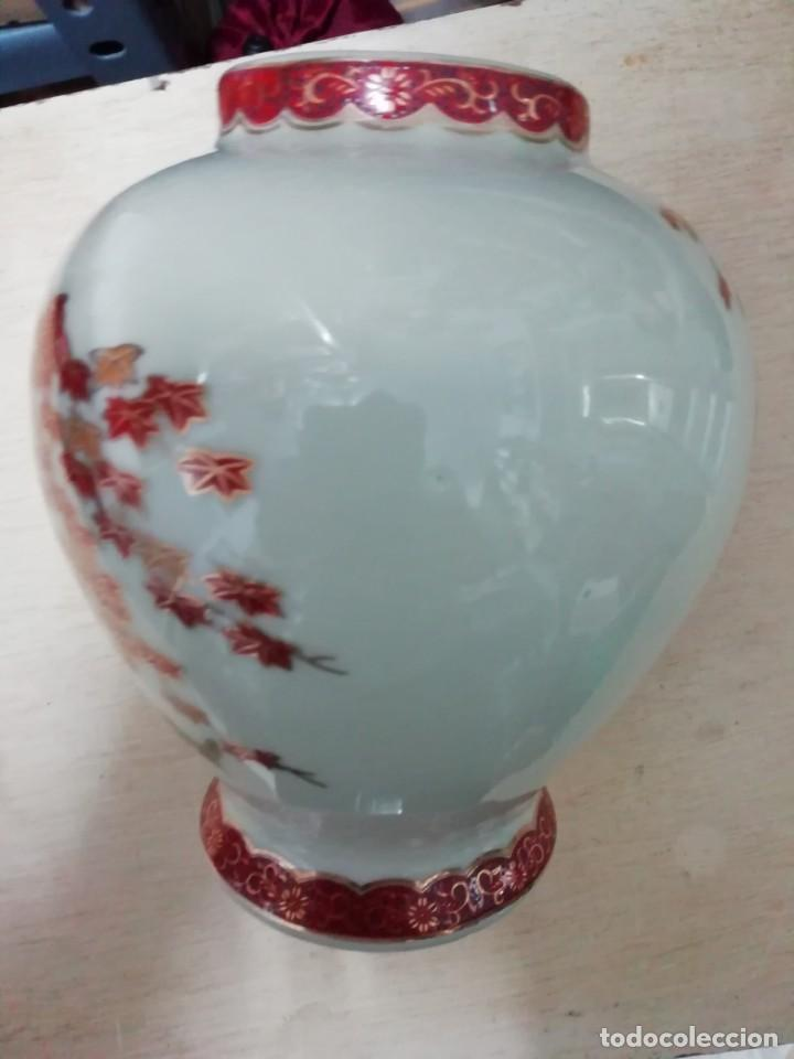 Antigüedades: jarron ceramica satsuma japon - Foto 2 - 164690062