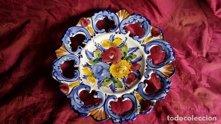 Antigüedades: Precioso plato francés. - Foto 2 - 164690166