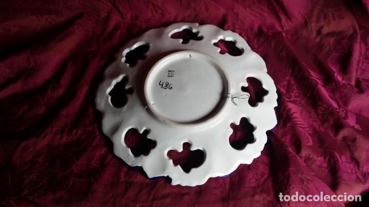 Antigüedades: Precioso plato francés. - Foto 3 - 164690166