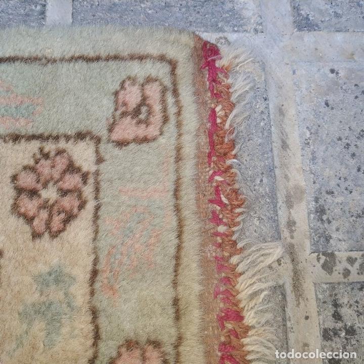 Antigüedades: ALFOMBRA KULA. LANA ANUDADA A MANO. KULA. TURQUIA. PRIMERA MITAD SIGLO XX - Foto 8 - 164700454
