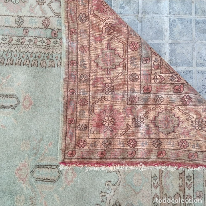 Antigüedades: ALFOMBRA KULA. LANA ANUDADA A MANO. KULA. TURQUIA. PRIMERA MITAD SIGLO XX - Foto 21 - 164700454