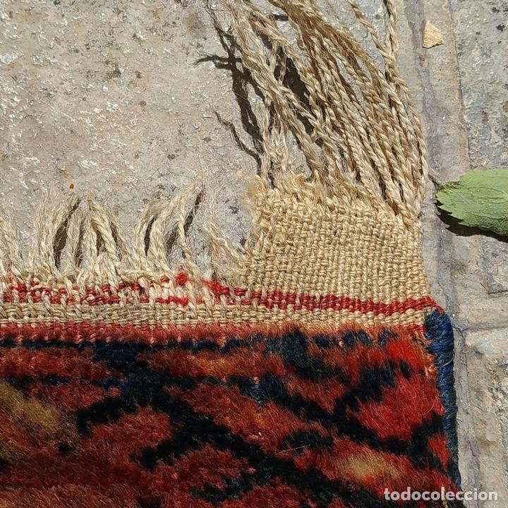 Antigüedades: ALFOMBRA TEKKE. LANA ANUDADA A MANO. TEKKE. TURKMENISTAN. SIGLO XIX-XX - Foto 5 - 164711126