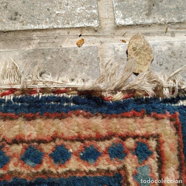 Antigüedades: ALFOMBRA ORIENTAL. LANA ANUDADA A MANO. ORIENTE MEDIO. PRINCIPIO SIGLO XX - Foto 6 - 164714958