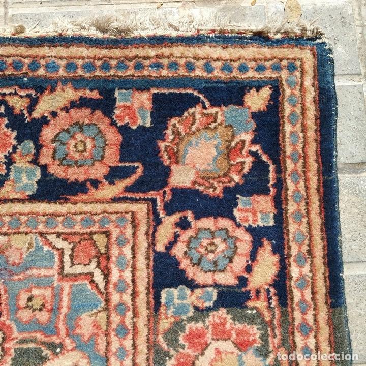 Antigüedades: ALFOMBRA ORIENTAL. LANA ANUDADA A MANO. ORIENTE MEDIO. PRINCIPIO SIGLO XX - Foto 10 - 164714958