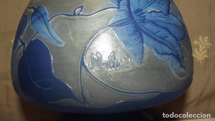 Antigüedades: LAMPARA SOBRE MESA, ART NOUVEAU - Foto 11 - 164725422
