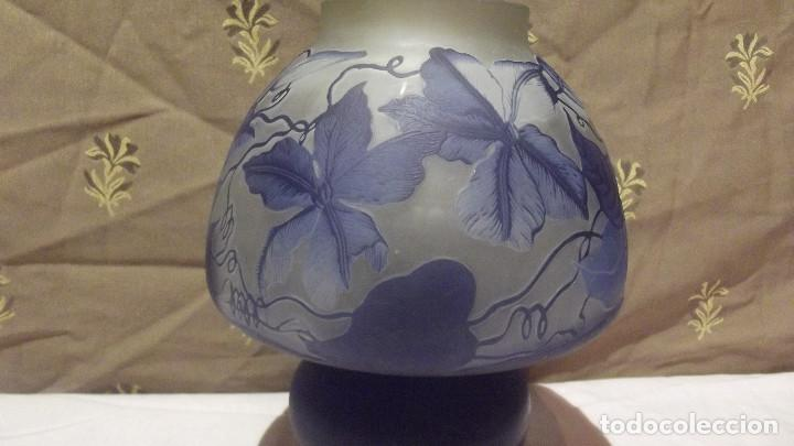 Antigüedades: LAMPARA SOBRE MESA, ART NOUVEAU - Foto 13 - 164725422