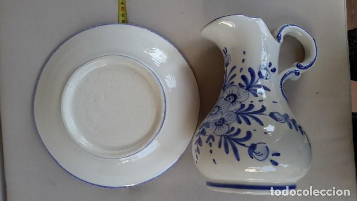 Antigüedades: Antiguo aguamanil y jofaina - Foto 7 - 164733974