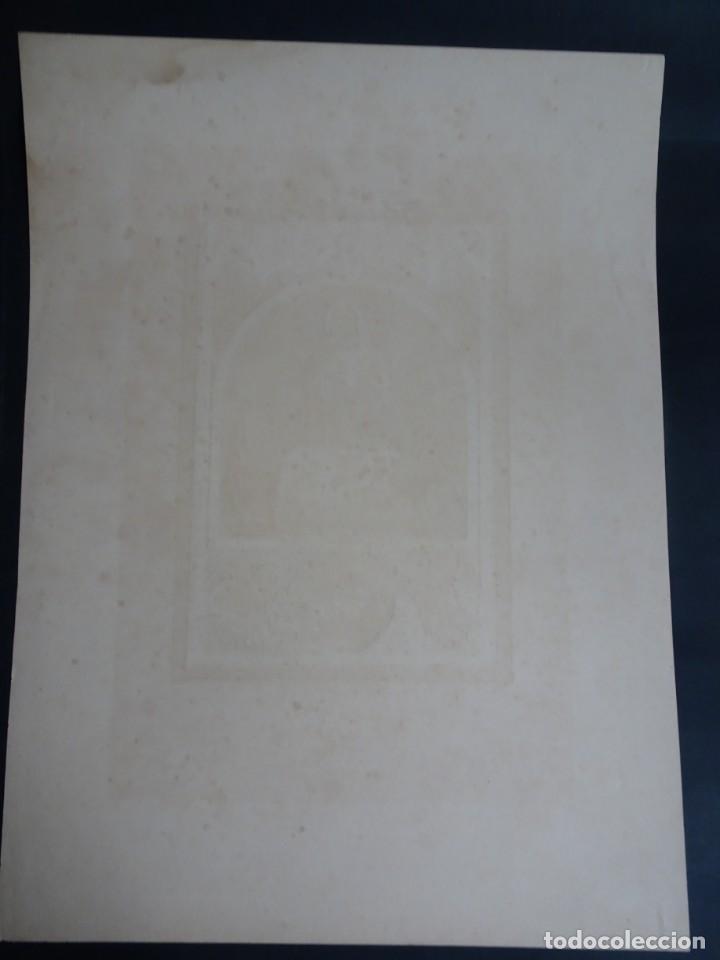 Antigüedades: ANTIGUA LÁMINA , PRIMERA COMUNIÓN PRINCIPIO SIGLO XX, VER FOTOS - Foto 5 - 164738510