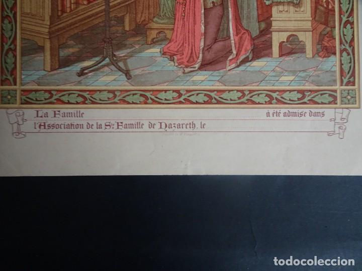 Antigüedades: ANTIGUA LÁMINA , PRINCIPIO SIGLO XX, VER FOTOS - Foto 3 - 164740246