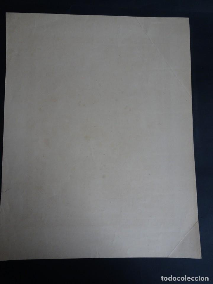 Antigüedades: ANTIGUA LÁMINA , PRINCIPIO SIGLO XX, VER FOTOS - Foto 4 - 164740246