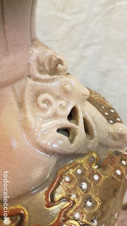 Antigüedades: JARRON MODERNISTA MARCAS EN BASE,ALTURA 44 CTMS - Foto 6 - 164757938