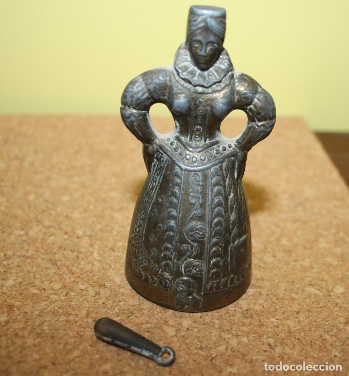 Antigüedades: Campana de dama, principios del siglo XX; única - Foto 6 - 161835146