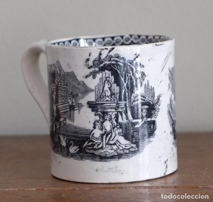 ANTIGUA TAZA O POCILLO POSIBLE PICKMAN O SARGADELOS (Antigüedades - Porcelanas y Cerámicas - Sargadelos)