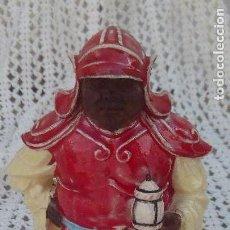 Antigüedades: FIGURA DE ALGORA ,CHINO EN PORCELANA ESMALTADA. Lote 164848366