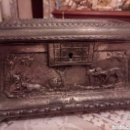 Antigüedades: ANTIGUO JOYERO/HUCHA DEL XIX. Lote 164850218