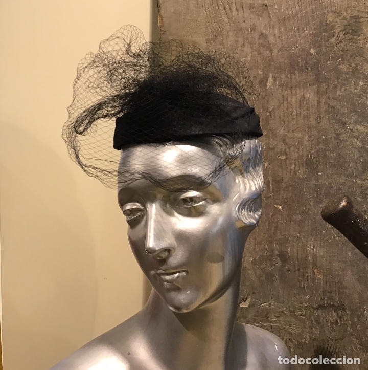 SOMBRERO AÑOS 50 (Antigüedades - Moda - Sombreros Antiguos)