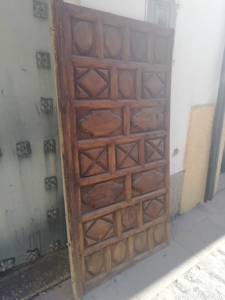 Antigüedades: Antigua puerta - Foto 2 - 164868185
