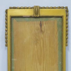 Antigüedades: ANTIGUO MARCO MODERNISTA DE MADERA DORADA. FINALES SIGLO XIX. Lote 164868306