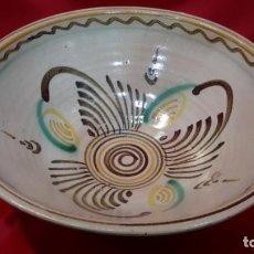 Antigüedades: GRAN PLATO POPULAR HONDO.. Lote 164871750